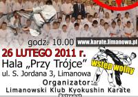 26 lutego 2011 – II Młodzieżowy Turniej Kyokushin Karate IKO