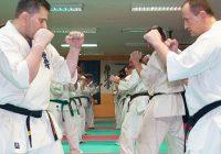 Ciężki sobotni trening grupy zaawansowanej