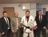 5 Dan w Limanowej. Shihan Zbigniew Goliński. Branch Chief IKO Nakamura Polska