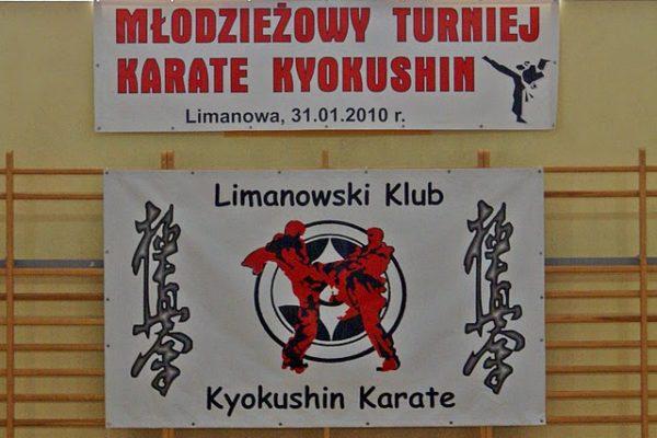 Młodzieżowy Turniej Kyokushin Karate w Limanowej!
