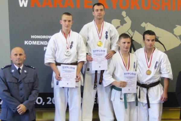 Złoty medal sensei Piotra w Szczytnie!