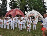 Pokaz Karate podczas Letniego Pikniku w Pisarzowej