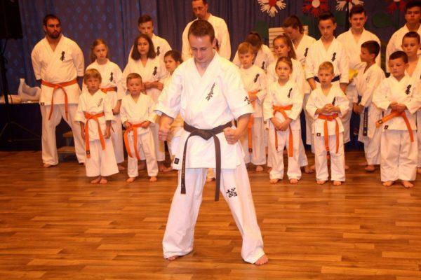 Pokaz Karate podczas Pikniku Rodzinnego na Starej Wsi