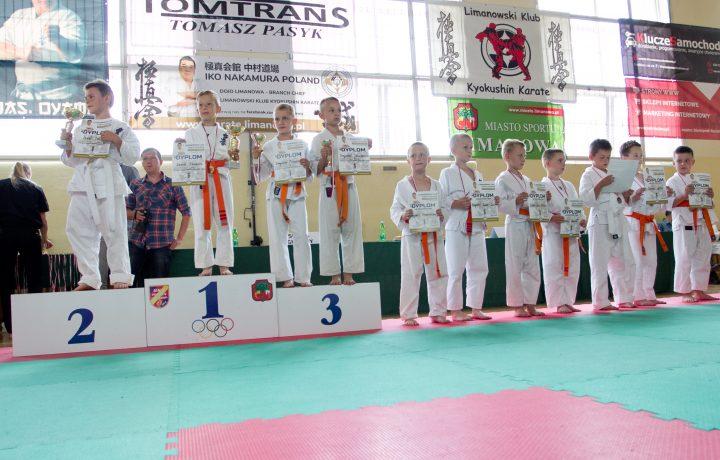 I Limanowska Liga Karate Kyokushin IKO Nakamura za nami!