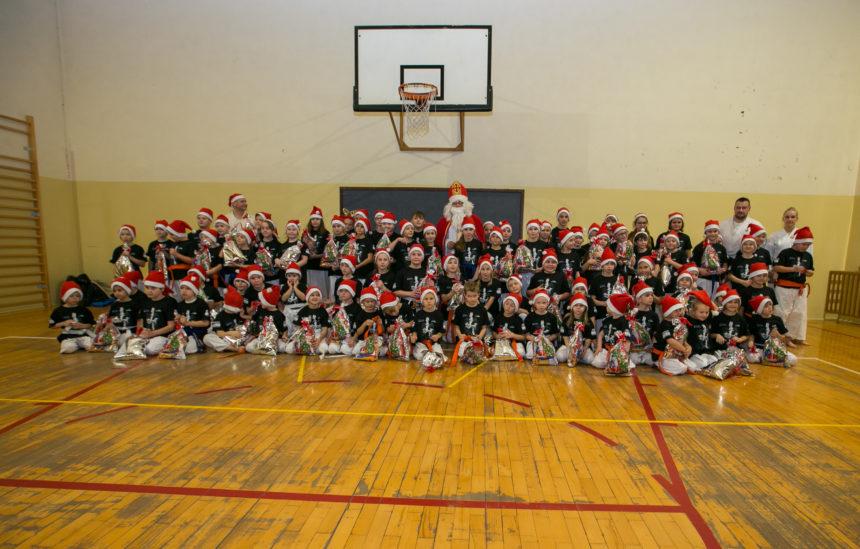 Wizyta świętego Mikołaja w Dojo Limanowa!