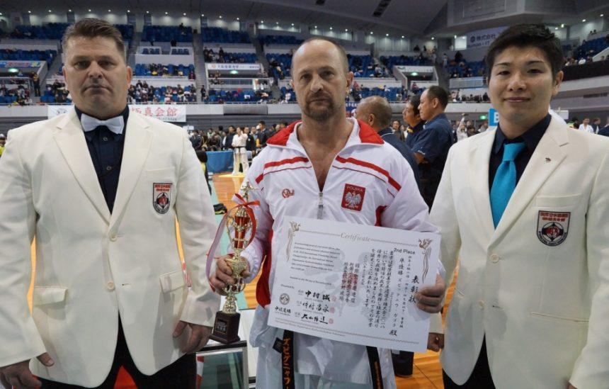 Wielki sukces limanowskiego zawodnika sensei Zbigniew Gągola zdobywa vice mistrzostwo świata IKO Nakamura!
