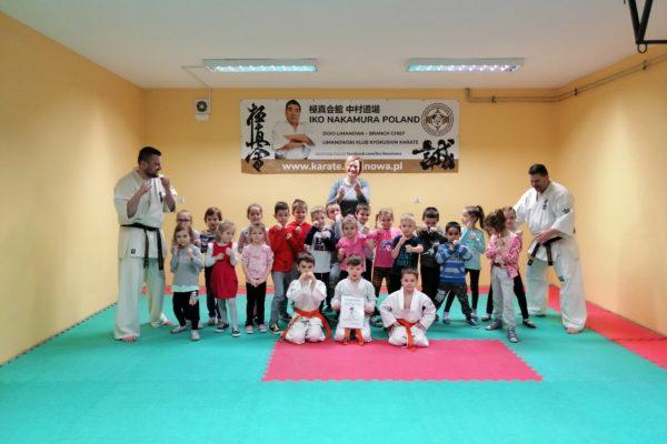 Pokazowy trening w przedszkolu w ZSP nr 1 w Limanowej