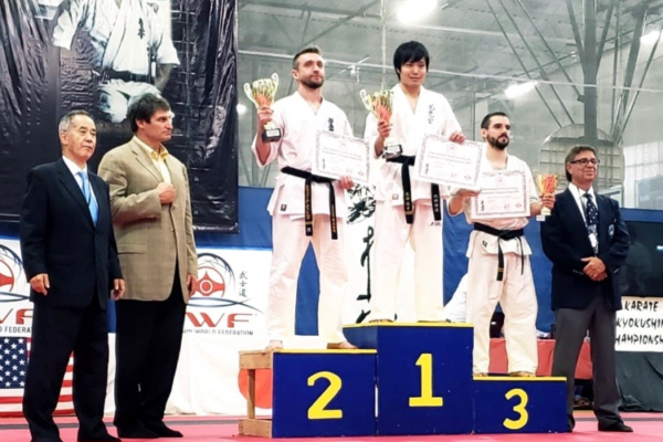 Piotr Marek Jasica vicemistrzem International American Karate Kyokushin Champions – Chicago 2019