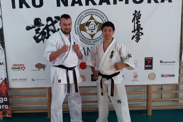 Od 1996 roku w  klubie – sensei Marcin Guzik 2 dan