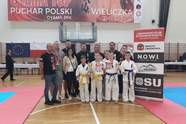 2 medale na Pucharze Polski Oyama Karate w Wieliczce!