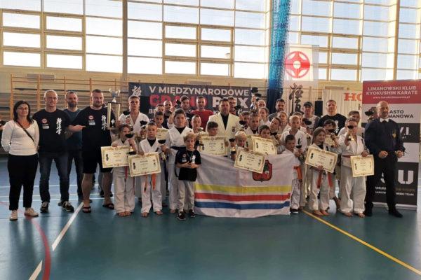 18 medali – 2 miejsce drużynowo na V Międzynarodowym Grand Prix Beskidów w Wilkowicach!