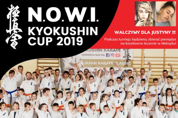 N.O.W.I. Kyokushin Cup 2019 – limanowska liga Kyokushin Karate już w najbliższą sobotę!