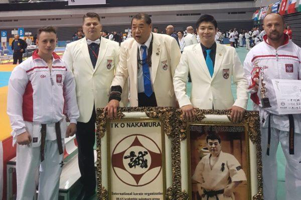 Wielki sukces w Japonii. Sensei Zbigniew Gągola brązowym medalistą, sempai Mateusz Puch 4 na Mistrzostwach Świata IKO Nakamura!