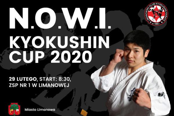 N.O.W.I. Kyokushin Cup 2020 – limanowska liga Kyokushin Karate już 29 lutego!
