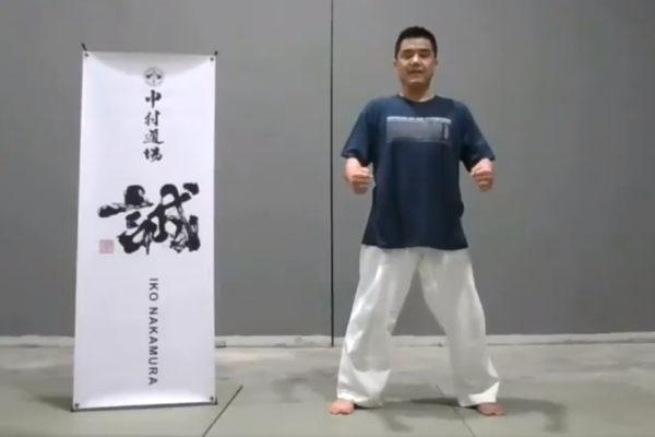 Trening online z shihan Tats Nakamura 7 dan