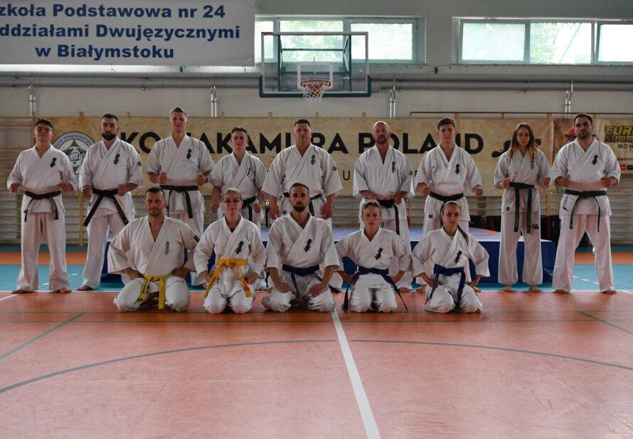 Europejski Obóz Karate Kyokushin IKO Nakamura w Białymstoku