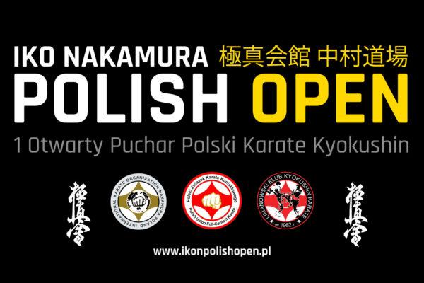 Zapowiedź 1 Otwartego Pucharu Polski Karate Kyokushin IKO Nakamura Polish Open – 2 październik 2021